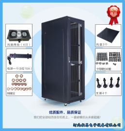 42U图腾服务器机柜 2米 K36042 鼎级网络机柜