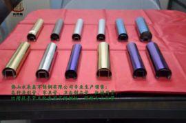 现货**不锈钢镀色管304彩色管可定制