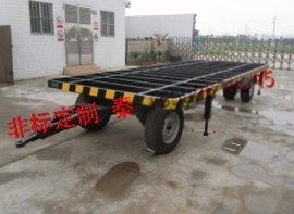 小型拖车,载货车运输,平板车,6TXD动力平板拖车,XD牵引拖车