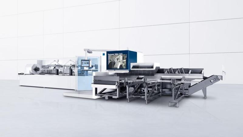 德国通快激光切管机,TruLaser通快激光切管机,激光切管机