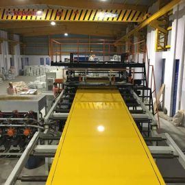 PVC超透水晶板挤出生产线设备