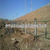 高铁防护栅栏 铁路通线防护栅栏