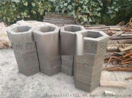 厂家直供圣卢西亚免烧压砖机 护坡砖机 河流六角空心护坡砖机