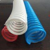 无毒无味食品级钢丝软管,卫生级pu钢丝平滑管,输酒平滑管