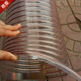 镀铜吸尘钢丝伸缩、PU抽吸风管主营厂家