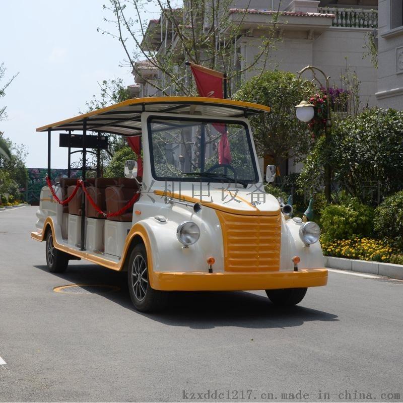 14座电动观光车,景区旅游观光电动车,楼盘电动看房车
