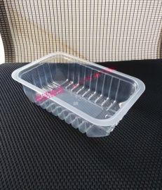 定做一次性鸭货塑料盒/周黑鸭熟食包装盒