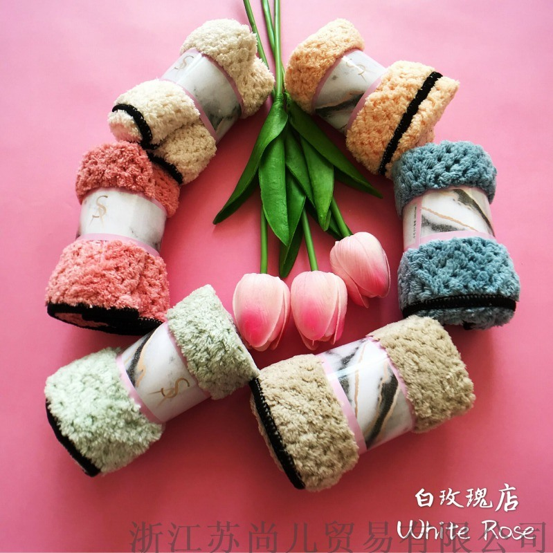 菠萝格苏尚儿新微米美容方巾