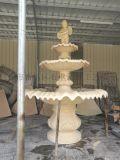 厂家直销砂岩喷水雕塑喷水池 人造石流水盆 艺术水景水钵