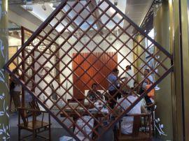 专业供应木纹仿古铝窗花  木纹仿古铝窗花货真价实