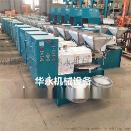大型商用全自动榨油机 小型花生榨油设备 菜籽压榨机