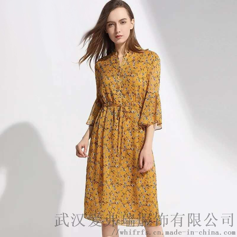 武汉外贸服装进货【现货】季候风连衣裙图片
