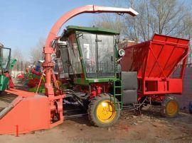 全自动青贮玉米秸秆打包机青储打捆包膜机畜牧打捆包膜机稻草机