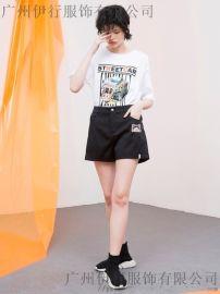 潮牌品牌折扣女装CRZ反季服装尾货直播货源拿货渠道
