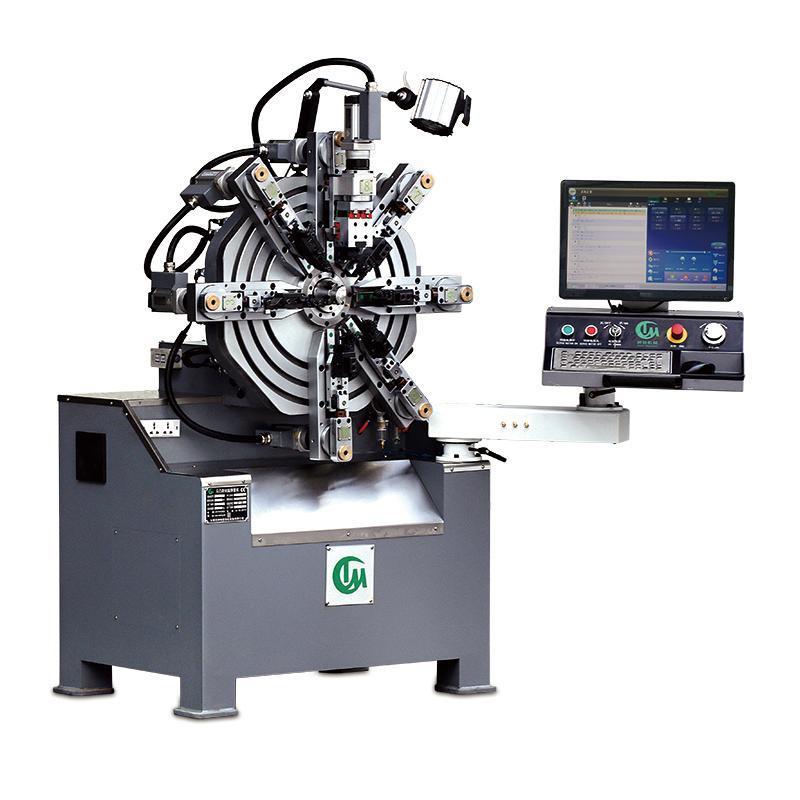 东莞无凸轮弹簧机厂家  2毫米弹簧折弯生产设备