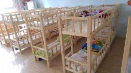 成都实木幼儿园家具厂家实木幼儿园床幼儿园上下床