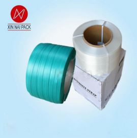 聚酯纤维打包带 柔性打捆绑带包带 高强19MM宽聚酯带柔性打包带