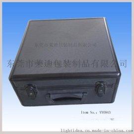 东莞市莱迪铝箱厂专业生产和设计全黑色**铝质工具箱