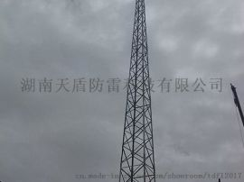 湖南专业定制避雷塔角钢圆钢避雷塔