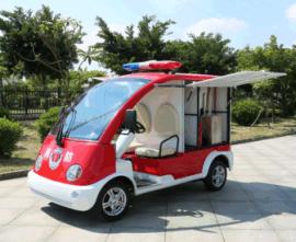 广州杰沃消防 DVXF-1两座电动消防车