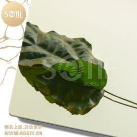 江苏不锈钢香槟金镜面板时尚精美安装方便
