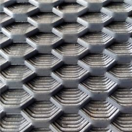 安平厂家供应带平头热镀锌钢板网用作防护的重型钢板网