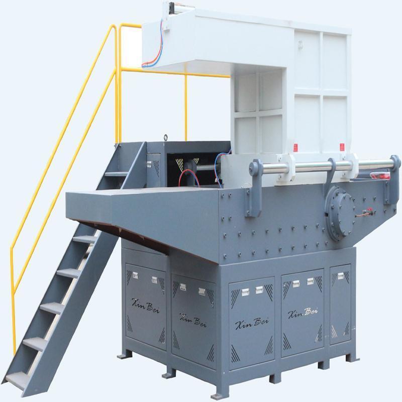 供应塑料托盘撕碎机  中空托盘回收用单轴撕碎机