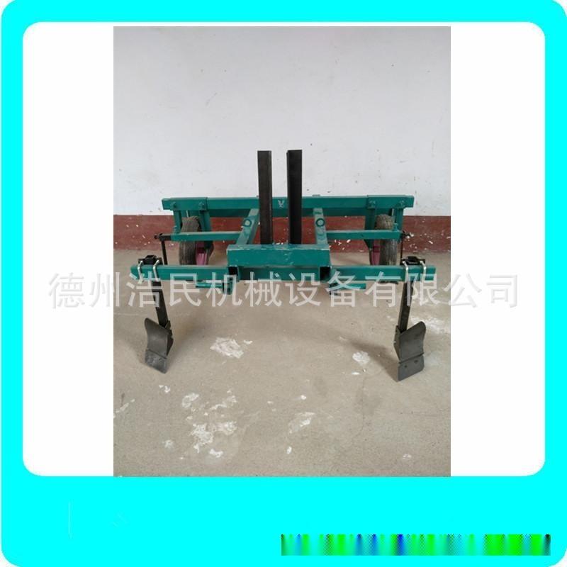 小型拖拉機地膜覆蓋機鋪膜機蓋地膜機 起壟覆膜一體機