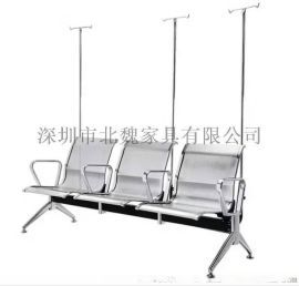 不锈钢加厚输液椅-不锈钢输液椅厂家-不锈钢输液椅价格-定制不锈钢输液椅-医用不锈钢输液椅