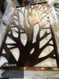 双面红古铜铝板雕刻屏风:精雕立体感更强高清大图