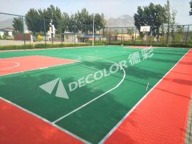 湖南标准篮球场悬浮地板专用拼装地板