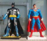 廣東原著雕塑廠家供應大戰蝙蝠俠雕塑 商業街雕塑擺件