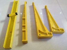 地面工地电线三角脚架SMC模压支架 玻璃钢支架