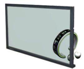 65/55/46/42/32寸透明液晶拼接屏/ 商场展示、实物互动
