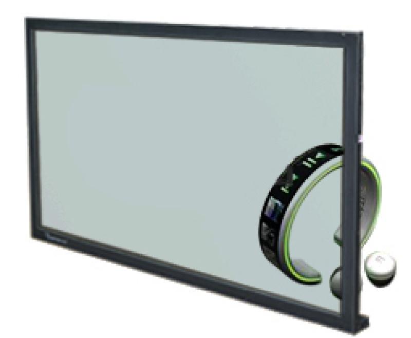 65/55/46/42/32寸透明液晶拼接屏/ **展示、实物互动