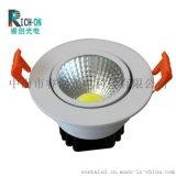 睿創光電LED天花燈 室內開孔筒燈廠家  RC-TH0201室內開孔筒燈