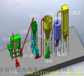 @供应济南百脉海源预糊化淀粉膨化机,预糊化淀粉加工设备