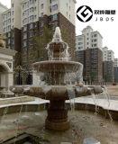 保定喷泉石雕厂家小区花岗岩水钵石雕喷泉
