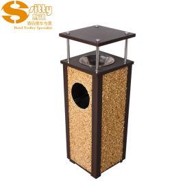 专业生产SITTY斯迪99.1821方形户外垃圾桶