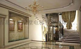 青岛曳引式家用别墅电梯