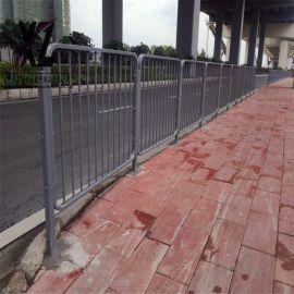 专业生产市政护栏道路护栏锌钢围栏