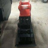 建筑工地挖机带夯实器 斜坡 高频振动夯 平板夯实机