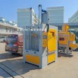 江門轉盤噴砂機,法蘭去除氧化皮自動轉盤噴砂機