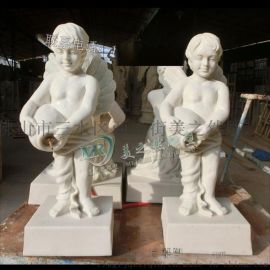 人造砂岩雕塑 小孩玻璃钢雕塑