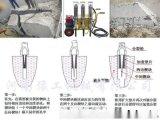 鄂州市大型液压劈裂机大块矿石二次解体