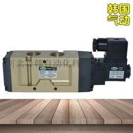 韩国DANHI丹海SVK3120二位五通电磁换向阀SANWO三和电磁阀换向阀