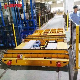 新乡100吨轨道转运车 机车检修车间过跨车