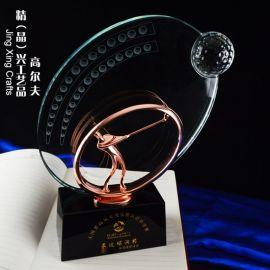 纪念奖杯  颁奖奖杯 合金高尔夫奖杯奖牌