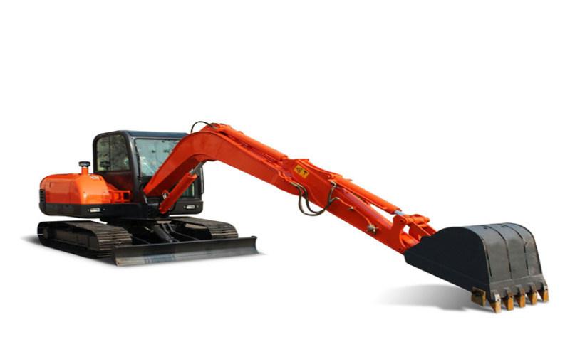 工程建设小型挖掘机 土地平整挖土机多功能微型挖掘机