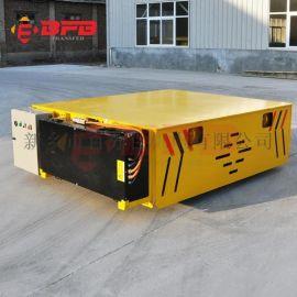 转运变压器55吨平板导轨车 钢管运输地轨车